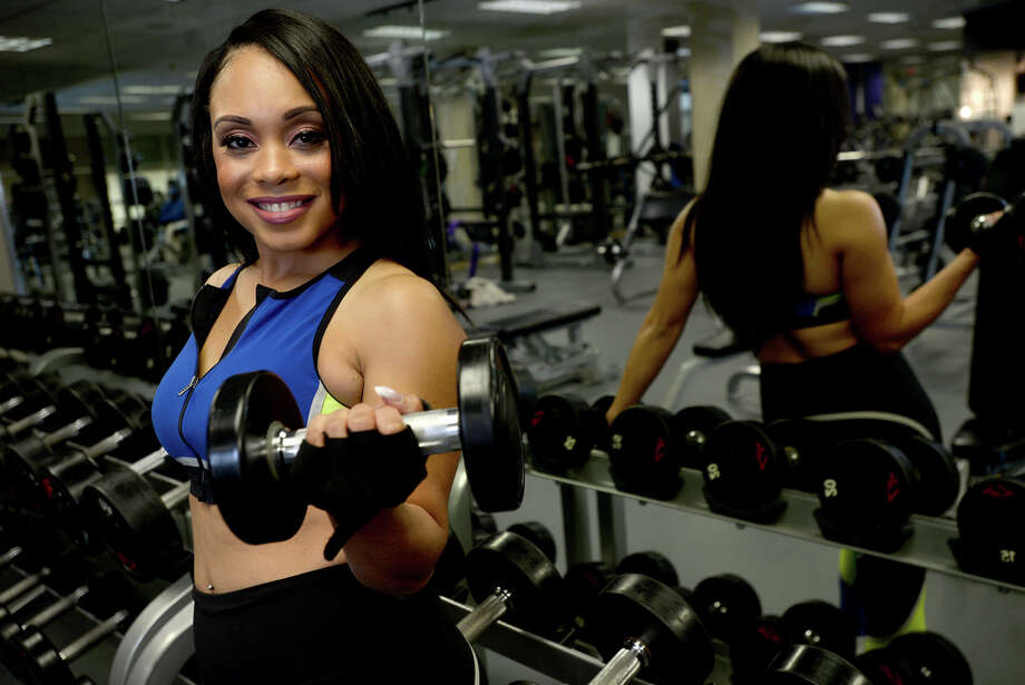 KFDM's Tan Radford is a fitness enthusiast and model when not in front of the camera reporting the news of Southeast Texas. Photo taken Tuesday, November 19, 2019 Kim Brent/The Enterprise Photo: Kim Brent / The Enterprise
