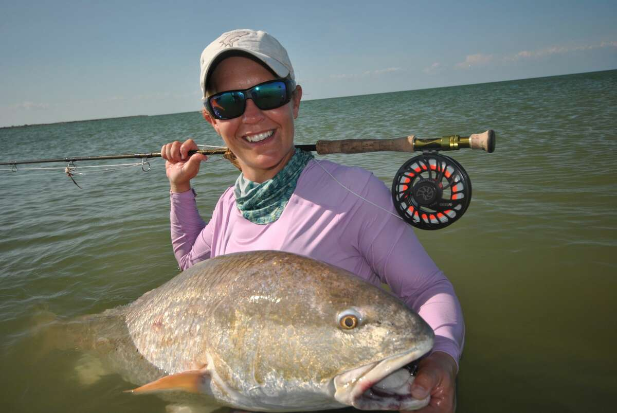 State Record Red Drum - Fly FishingCaught by: Candace KernWhere: Matagorda Bay When: Aug. 14, 2019
