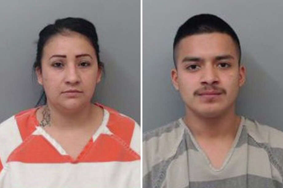 A routine traffic stop landed two people behind bars, according to Laredo police. Photo: Courtesy