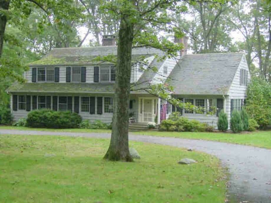 The home at 166 Nod Hill Road where hundreds of gallons of home heating oil were spilled. Photo: Contributed Photo / Wilton Bulletin Contributed
