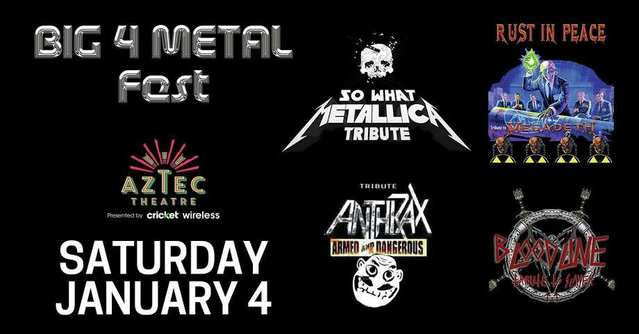 The Aztec Theatre sent out a rallying cry to heavy metal fans on Facebook ahead of the Big Four Metal Fest on Saturday. Photo: Aztec Theatre