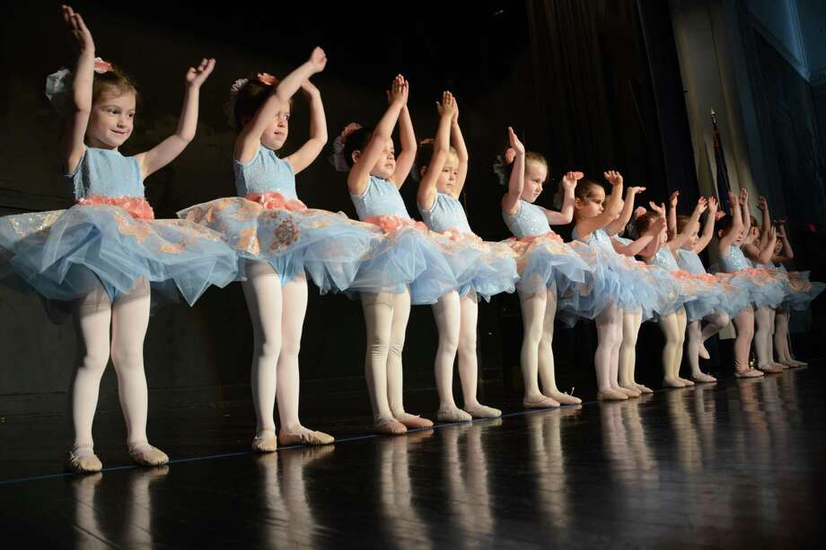 Young dancers in last year's performance at the Darien Arts Center. Classes begin Jan. 20. Photo: Contributed Photo