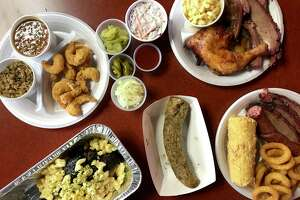 A selection of menu items from Brooks BBQ & More
