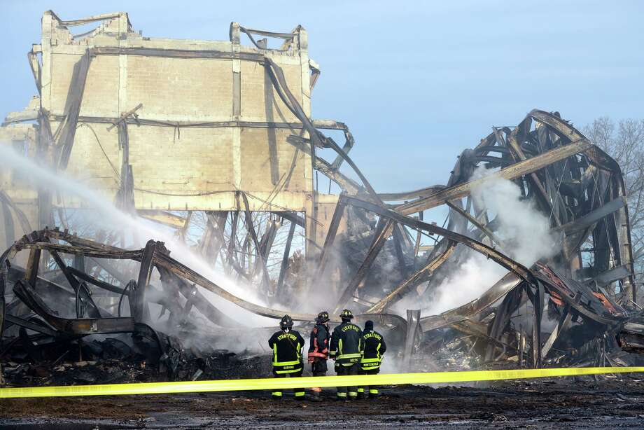 Three teens accused of setting the fire that destroyed Stratford's American Shakespeare Theatre last year, were in court Friday. Photo: Ned Gerard / Associated Press / Connecticut Post