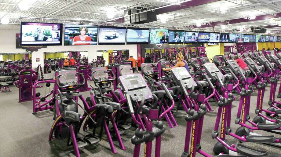 Planet Fitness held its grand opening for the company's Conroe location Thursday. Photo: Jason Fochtman