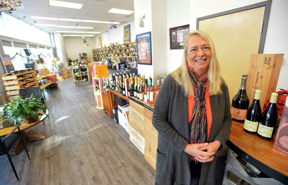 Terry Rogers is a resident of the Infinity apartment building in Harbor Point and owner of the neighboring Harbor Point Wines & Spirits at 130 Washington Blvd., in Stamford, Conn.