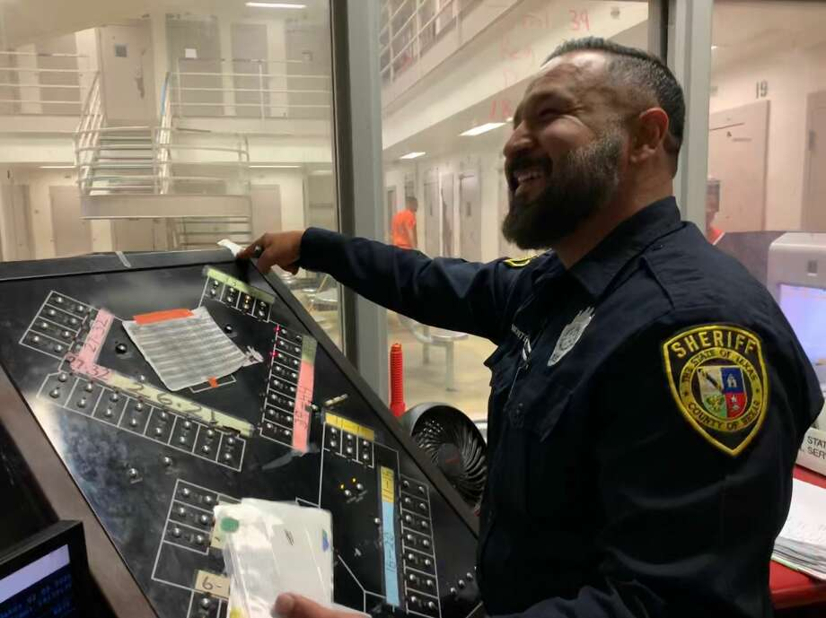 Sheriff Javier Salazar announced Thursday that all uniformed personnel will be allowed to have beards year-round for the first time. Photo: Bexar County Sheriff's Office
