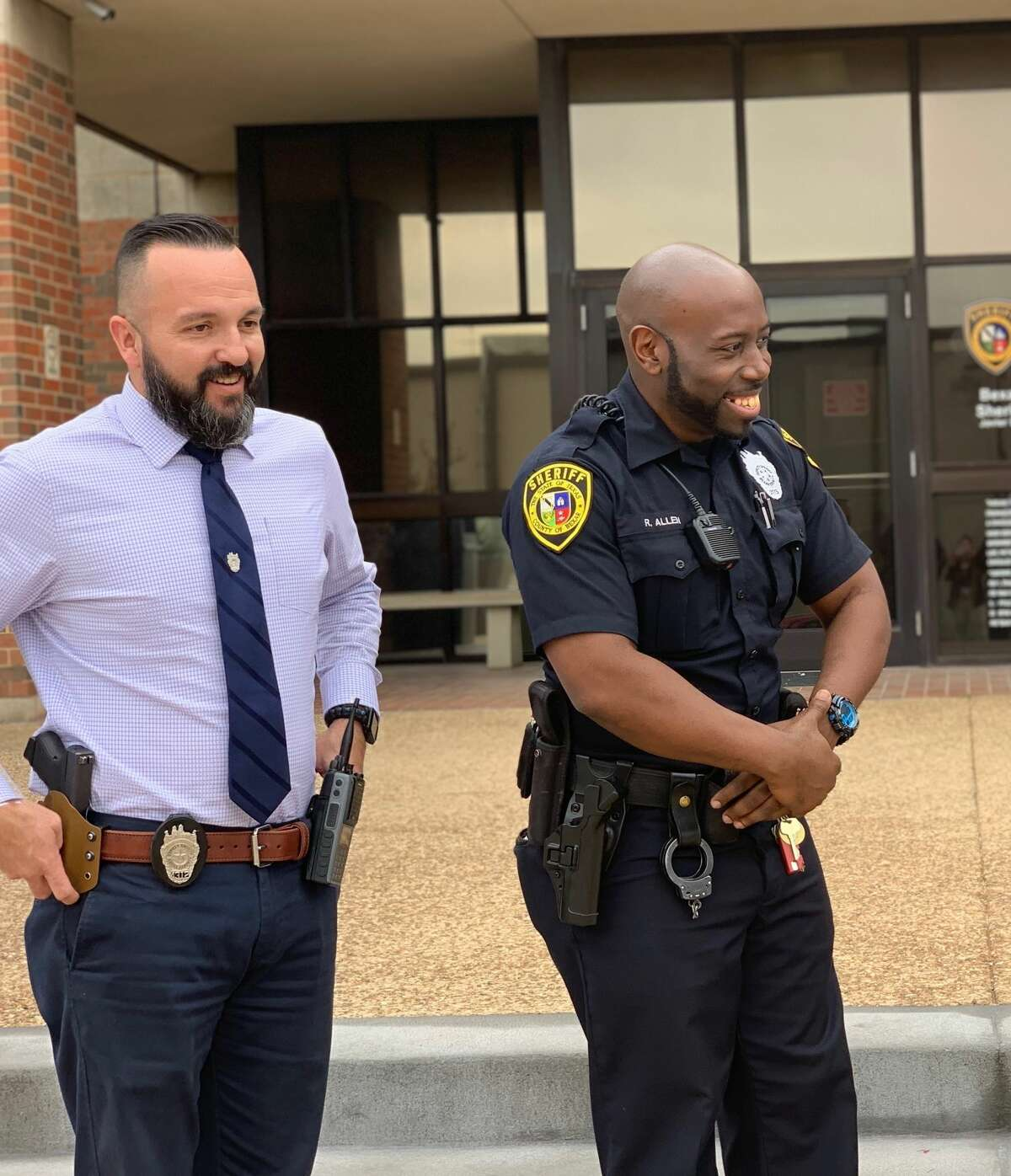 Sheriff Javier Salazar announced Thursday that all uniformed personnel will be allowed to have beards year-round for the first time.