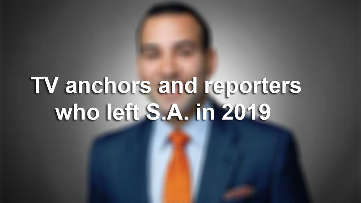 TV anchors and reporters who San Antonio said goodbye to in 2019.