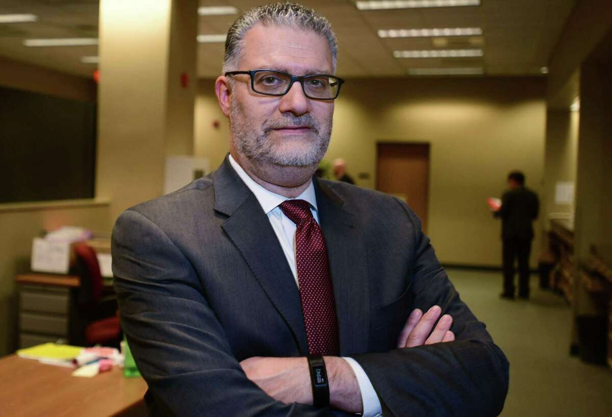 Stamford State's Attorney Richard Colangelo at Stamford Superior Court Friday, December 6, 2019, in Stamford, Conn. Colangelo is applying to be come the Chief State's Attorney for Connecticut.