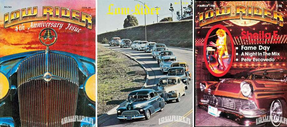 Covers of Lowrider magazing. | Lowrider