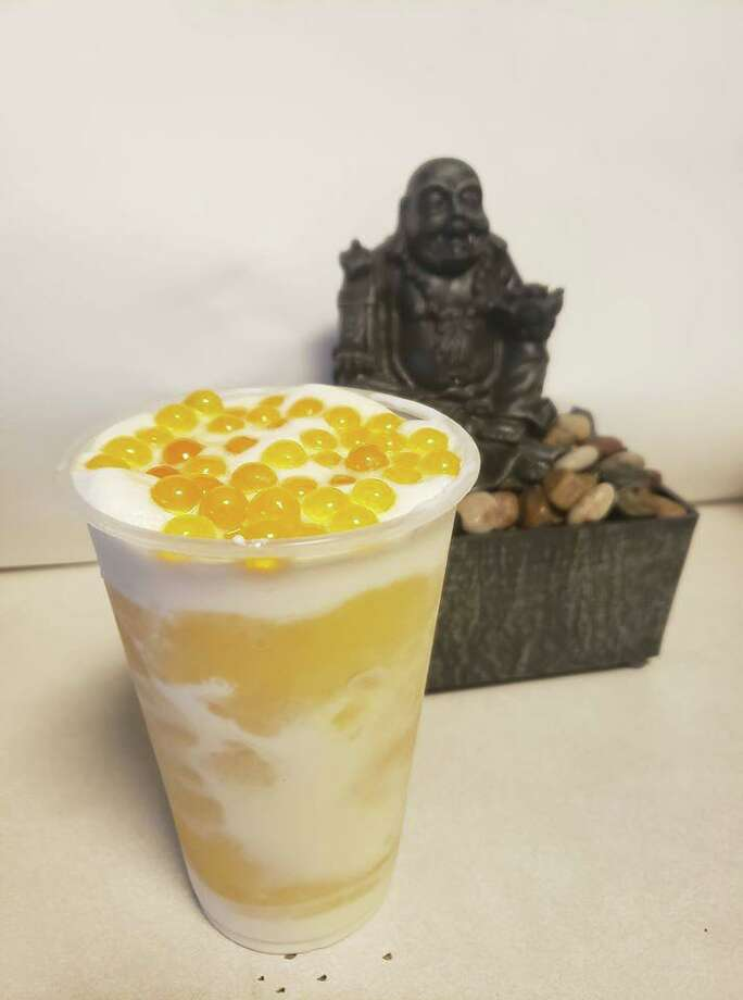 Happy Time Tea Lounge is opening on Phelan Boulevard in Beaumont by Jan. 6, according to the tea house's Facebook page. They will serve Taiwanese milk teas and other types of tea-based drinks with mix-ins like tapioca pearls, also referred to as boba. Photo: Courtesy Of Happy Time Tea Lounge