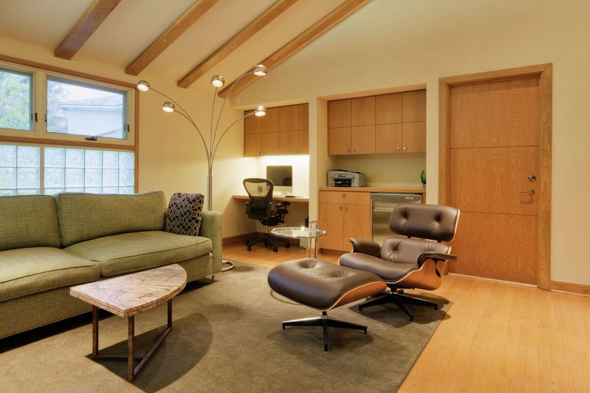 NOT: Mad Men-style Mid-Century Modern. Getting a little long in the tooth, like those who lived through the '50s. (We still love the Eames chair, though.)