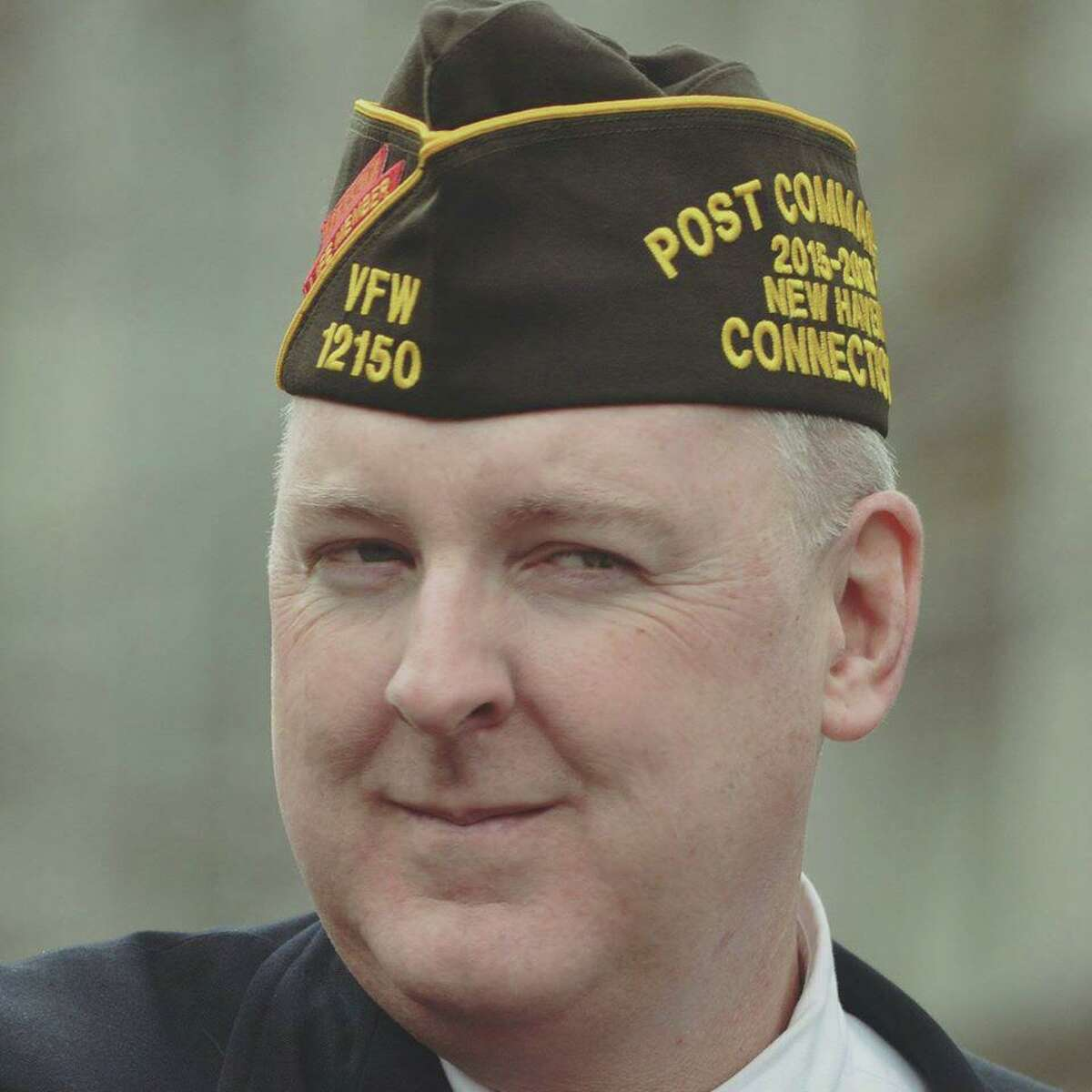 Charles M. Pickett is the commander of the American Legion New Haven Post 210 and quartermaster of the VFW New Haven Post 12150.