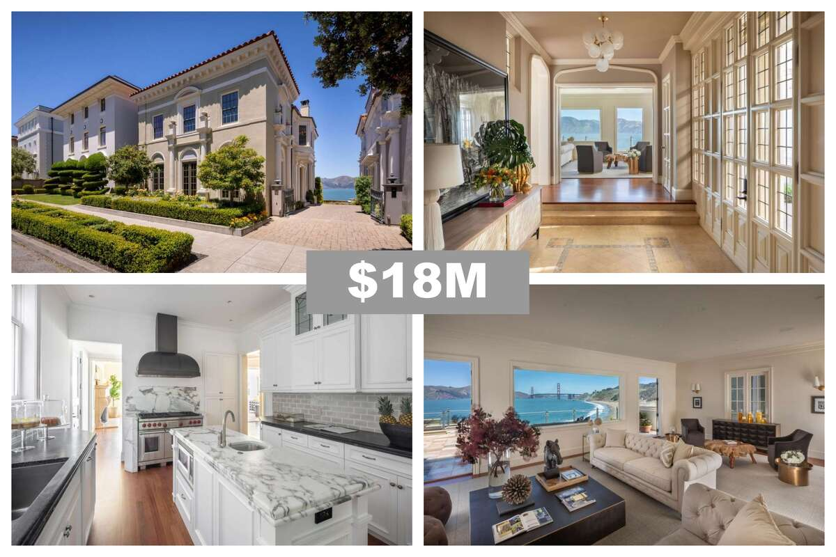 In Sea Cliff, 140 Sea Cliff, which sits directly above the Pacific Ocean and has unobstructed views from its main-floor patio, upper-level master bedroom and rooftop hot tub, sold for $18 million in 2019.