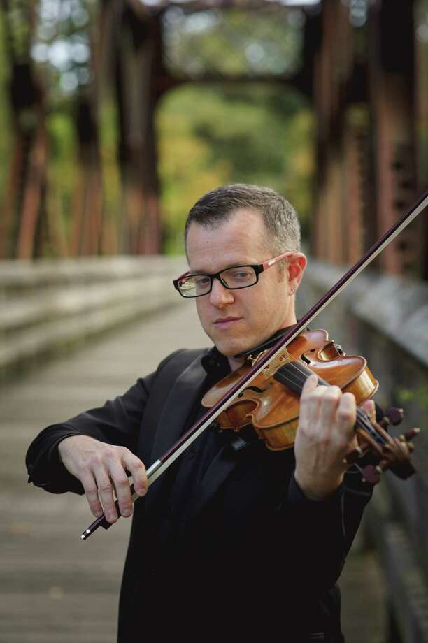 """The Farmington Valley Symphony Orchestra will include a solo by Concert Master Michael Winer in """"The Lark Ascending"""" by Ralph Vaughan Williams. Photo: Contributed Photo /"""