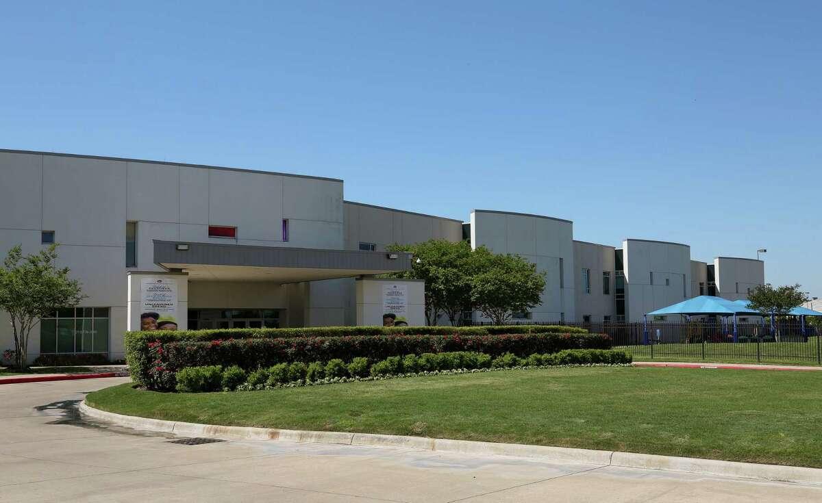 Kingdom Builder's Center which hosts Windsor Village United Methodist Church Friday, March 30, 2018, in Houston.