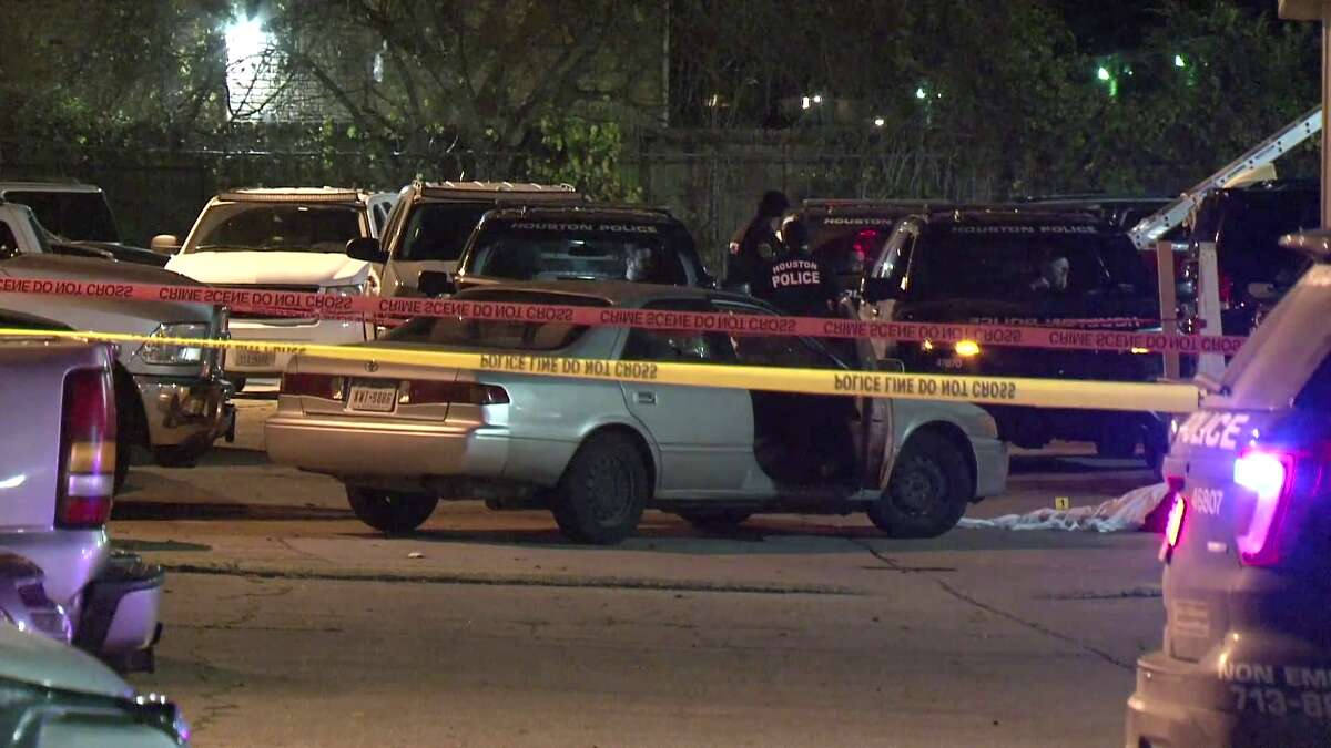 Authorities in Houston are searching for a man believed to have fatally shot his fiancée three days after proposing to her on New Year's Eve.