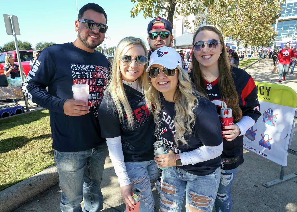 PHOTOS: A look at fans at Saturday's Texans-Bills playoff game Houston Texans fans before the AFC Wild Card playoff game against the Buffalo Bills at NRG Stadium Saturday, Jan. 4, 2020, in Houston. Browse through the photos above for a look at more fans at Saturday's Texans playoff game ...