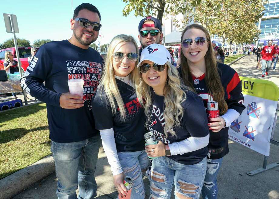 PHOTOS: A look at fans at Saturday's Texans-Bills playoff game