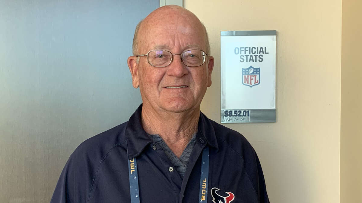 The Texans' playoff game against the Bills marked the last for the storied career of statistician Bill Johnson.