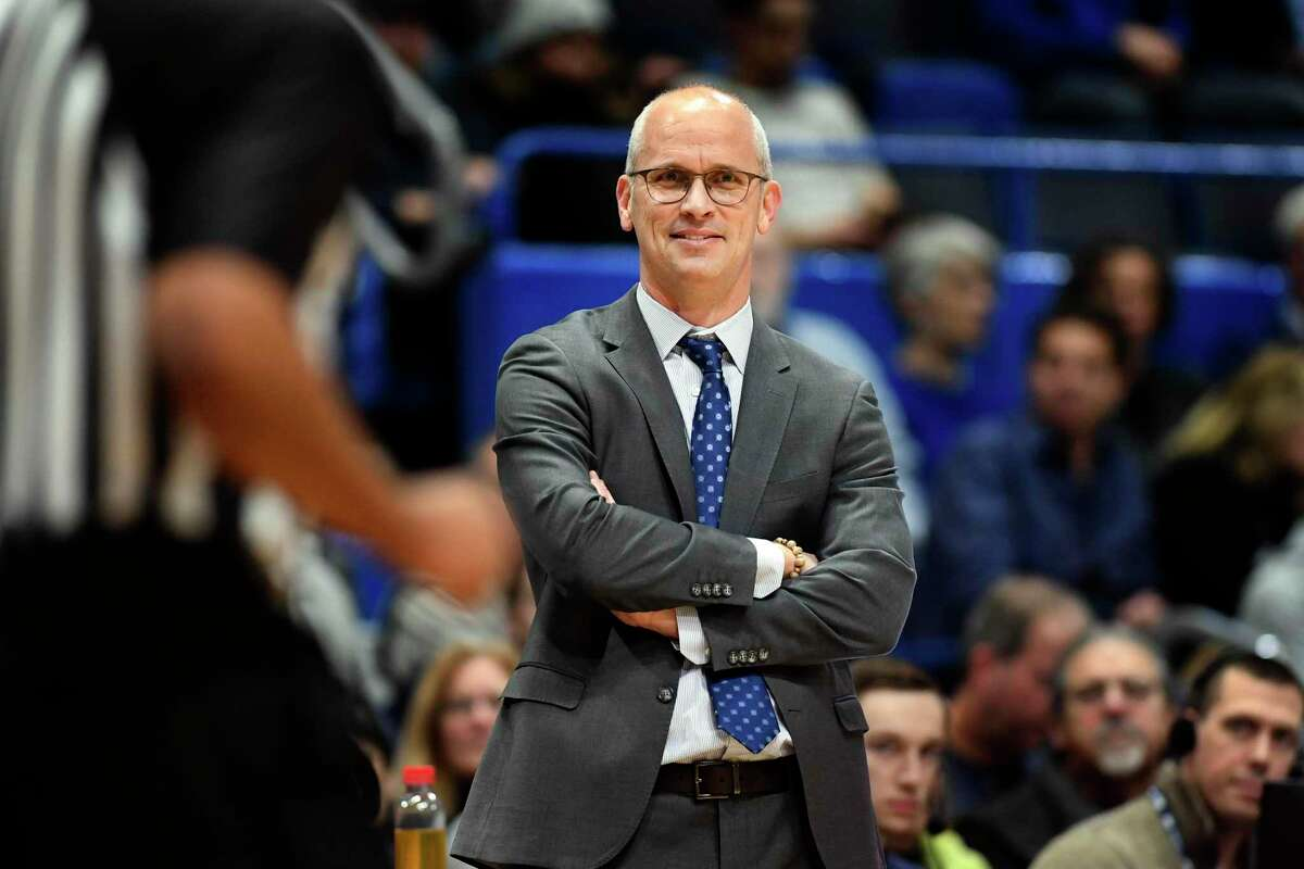 UConn head coach Dan Hurley is entering his third season at the helm with the Huskies.