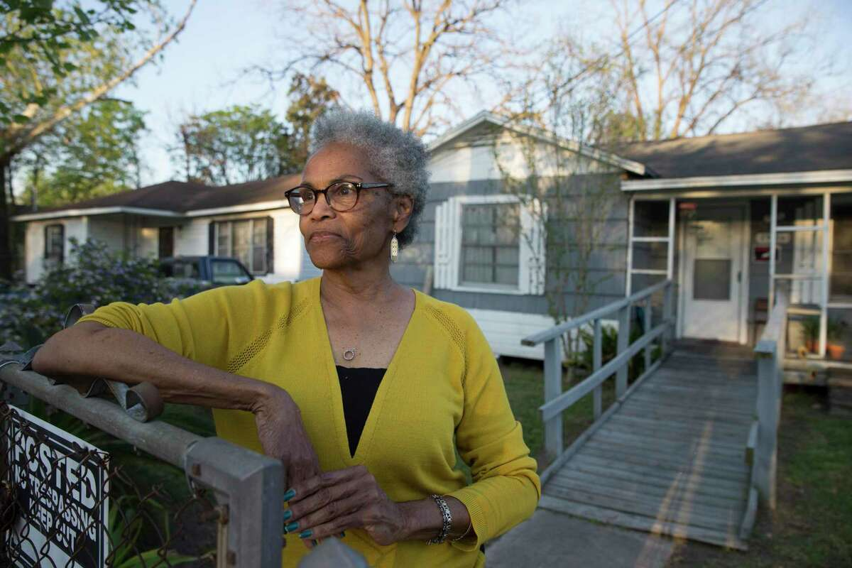 Barbara Beal, 75, poses for a photograph at her mother's house on Lavender Street in the Kashmere Gardens neighborhood on Thursday, March 21, 2019, in Houston. Beal was diagnosed with stage-one lung cancer in 2018 and went through five radiation treatments.