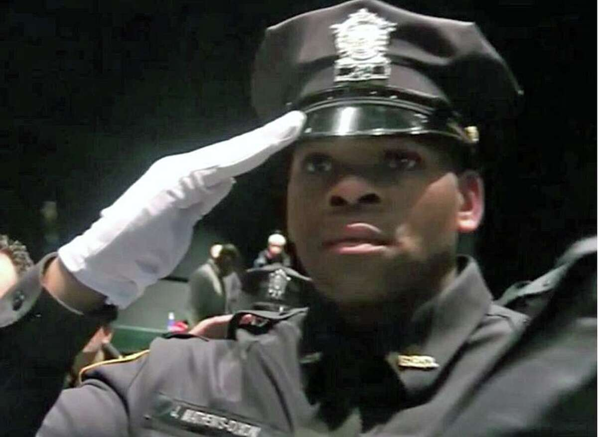 Bridgeport Police Officer Jarah Matthews-Dixon.