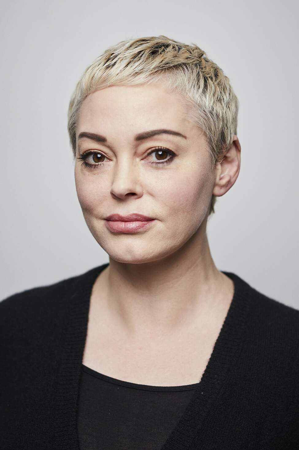 Rose McGowan poses for a portrait in New York on Friday, Jan. 3, 2020.