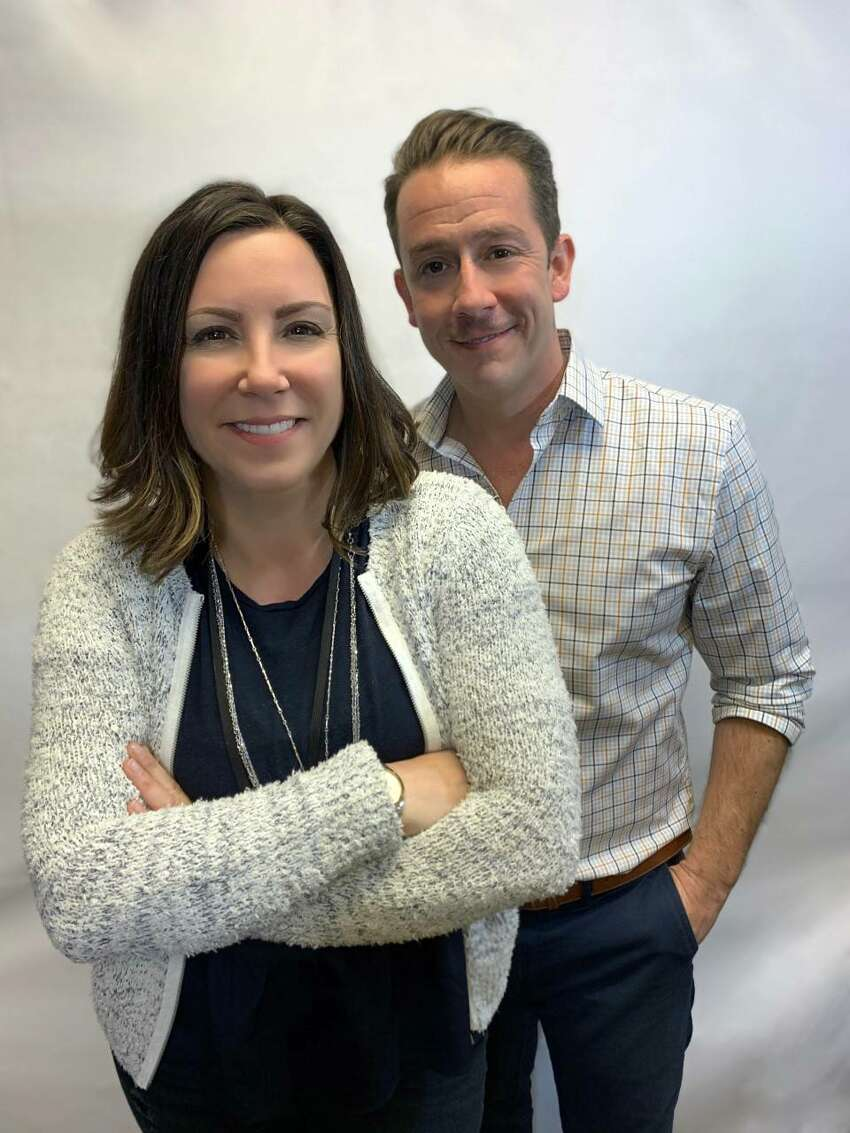 Scroll down for 20 things you don't know about Tracy Villaume. In photo, Tracy Villaume with her The River co-host, Jason Howard.