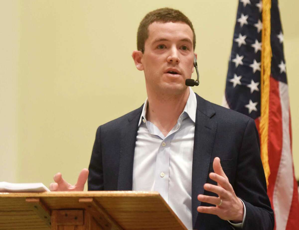 """President Obama's former speechwriter Adam Frankel will speak at 7 p.m. Tuesday at the YWCA Greenwich in a talk co-hosted by the UJA-JCC Greenwich. His topic will be his memoir, """"The Survivors: A Story of War, Inheritance and Healing."""""""
