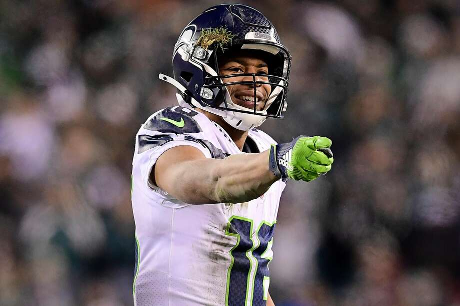 """Seattle Seahawks wide receiver Tyler Lockett said he """"definitely"""" had hesitations about playing this season due to the ongoing novel coronavirus pandemic. Photo: Steven Ryan, Getty Images"""