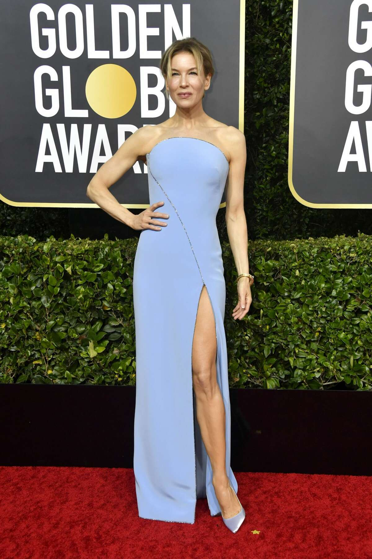 Renee Zellweger attends the 77th Annual Golden Globe Awards at The Beverly Hilton Hotel on January 05, 2020 in Beverly Hills, California.