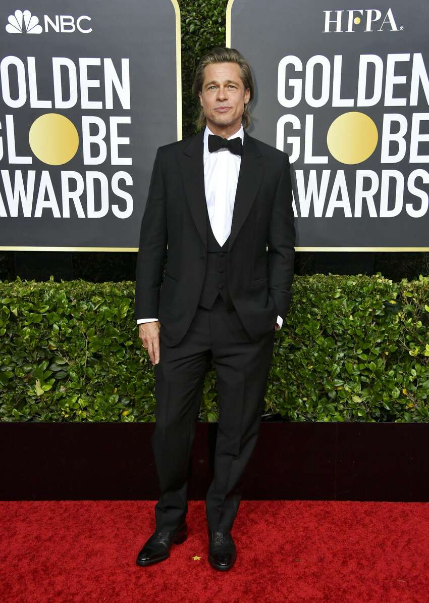 Brad Pitt attends the 77th Annual Golden Globe Awards at The Beverly Hilton Hotel on January 05, 2020 in Beverly Hills, California.