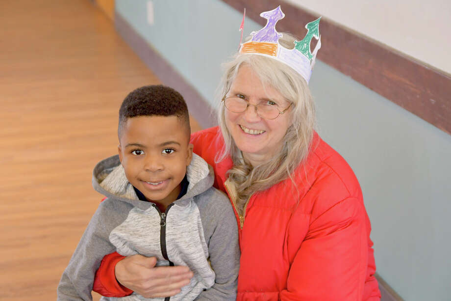 The 2020 Epiphany Party was held at The Church of Christ in Goshen CT on January 5th. A pasta bar, Crown making and Scripture reading was part of the event. Photo: Lara Green- Kazlauskas/ Hearst Media
