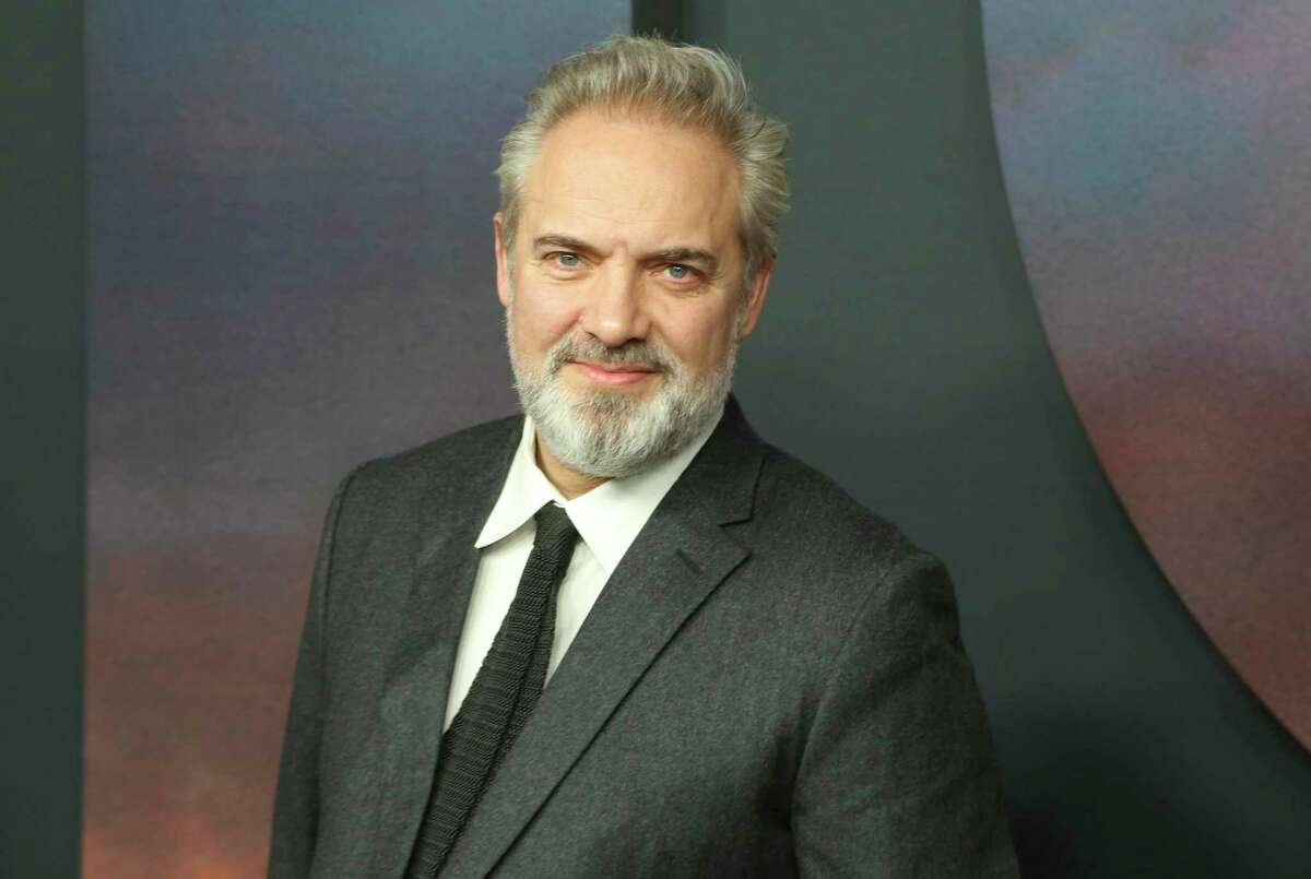 FILE - In this Wednesday, Dec. 18, 2019 file photo, Sam Mendes arrives at the Los Angeles premiere of