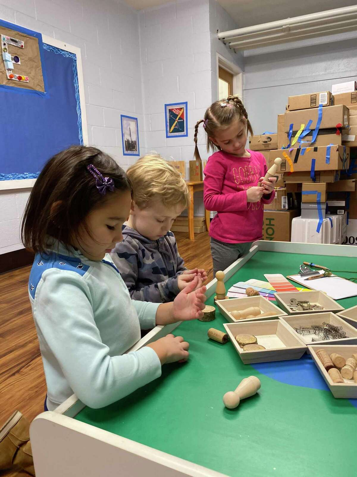 The United Methodist Preschool, (UMPS), has announced its newly completed Makerspace.