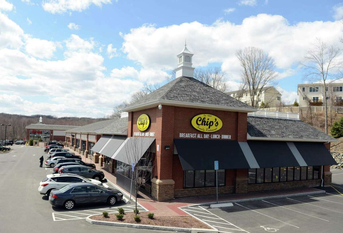 Traffic on Rt. 111 in Trumbull, near the border with Monroe, has increased with the recent opening of a new shopping center, which includes Chips Restaurant and Fitness Edge.