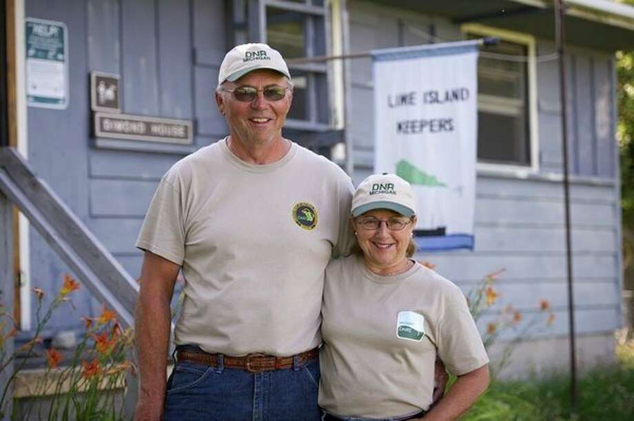 Longtime state park campers Howard and Janet Chilson signed up to be campground hosts at Lime Island State Recreation Area during the 2018 season.The Michigan DNR is seeking applicants for the 2020 season; a great opportunity for those who want to have their camping fees waived in exchange for some help around the park. (Photo provided by Michigan DNR) / Copyright 2011 State of Michigan