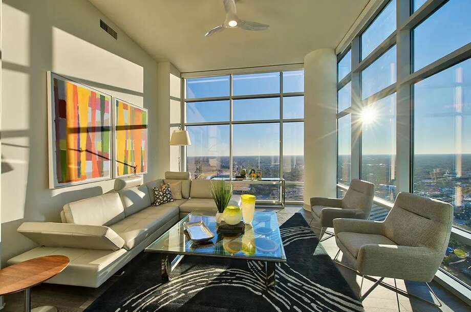 The view from the Penthouse at 1805 Old Main Street in University Place. Click through the gallery to see some of Houston's most extravagant and luxurious apartment rentals.  Photo: Courtesy