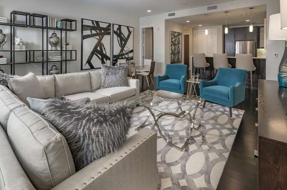 The Star Apartments in Downtown are an example of the luxury rentals on the market. NEXT: Central Houston luxury apartment rents Photo: Courtesy