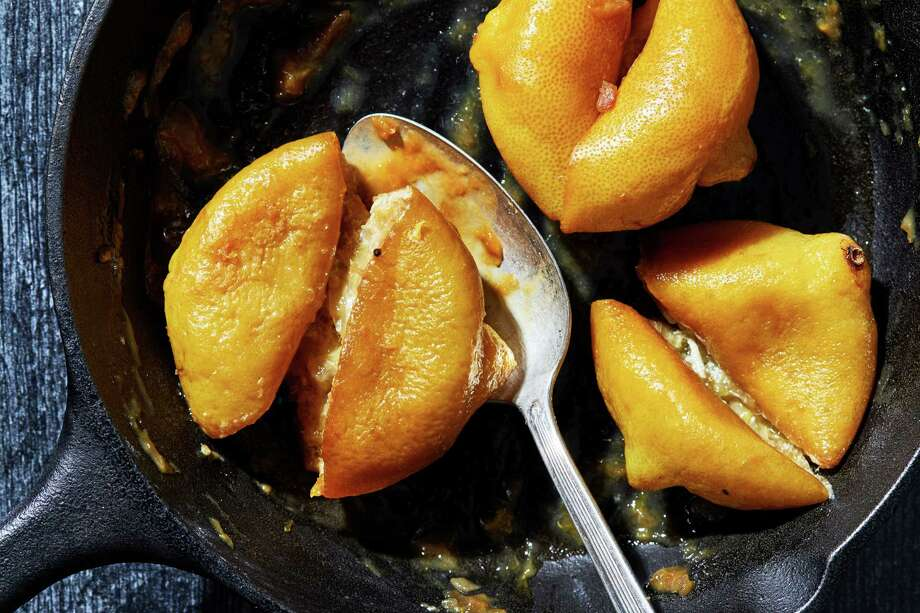 Roasting citrus adds a little sunshine to your winter recipes