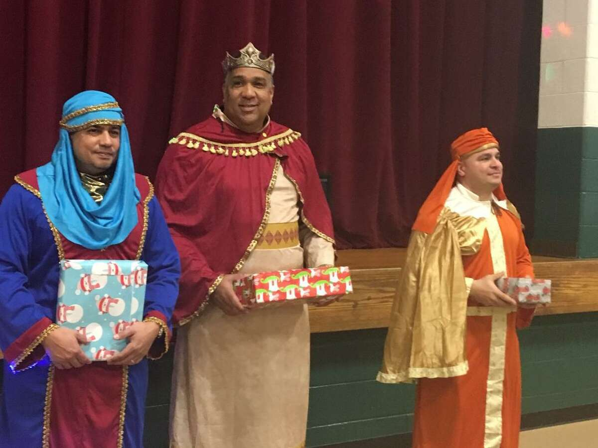 The Three Kings at Marin School, Bridgeport. Jan. 6, 2020
