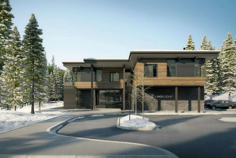 When completed, the LakeLodge at Moonlight Basin in Big Sky, Mont. will feature 16 upscale residences. Photo: Outer Realm