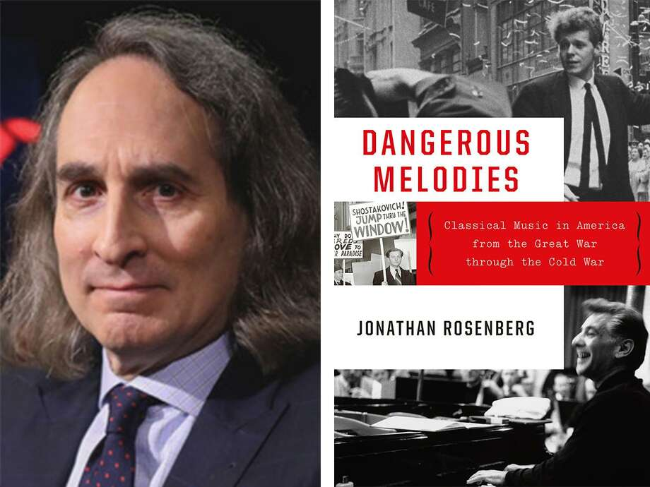 """Greenwich Library is hosting a music AuthorTalk event with Jonathan Rosenberg on his book """"Dangerous Melodies: Classical music in America from the Great War through the Cold War"""" on Jan. 8. Photo: Www.greenwichlibrary.org"""