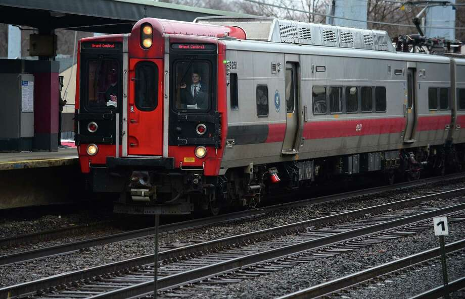 A public-private partnership between the state of Connecticut and AT&T is expected to enhance Internet service on the Metro North New Haven line. Photo: Erik Trautmann / Hearst Connecticut Media / Norwalk Hour