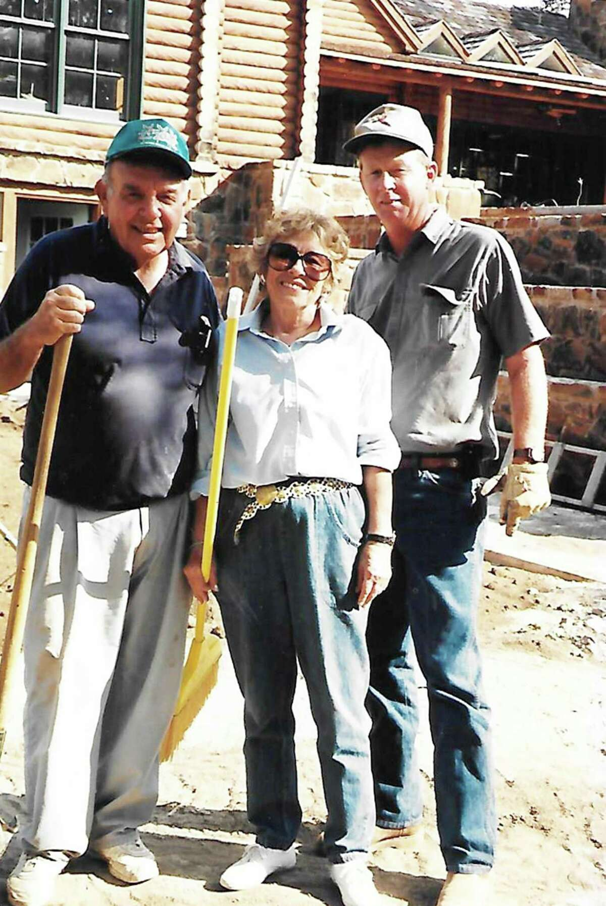 Lynn Moody, right, who died Dec. 31, 2019, is pictured with his stepfather Felix Stehling and his mother Billie Joe Stehling at the family's river house. The photo is believed to have been taken in the early 2000s.