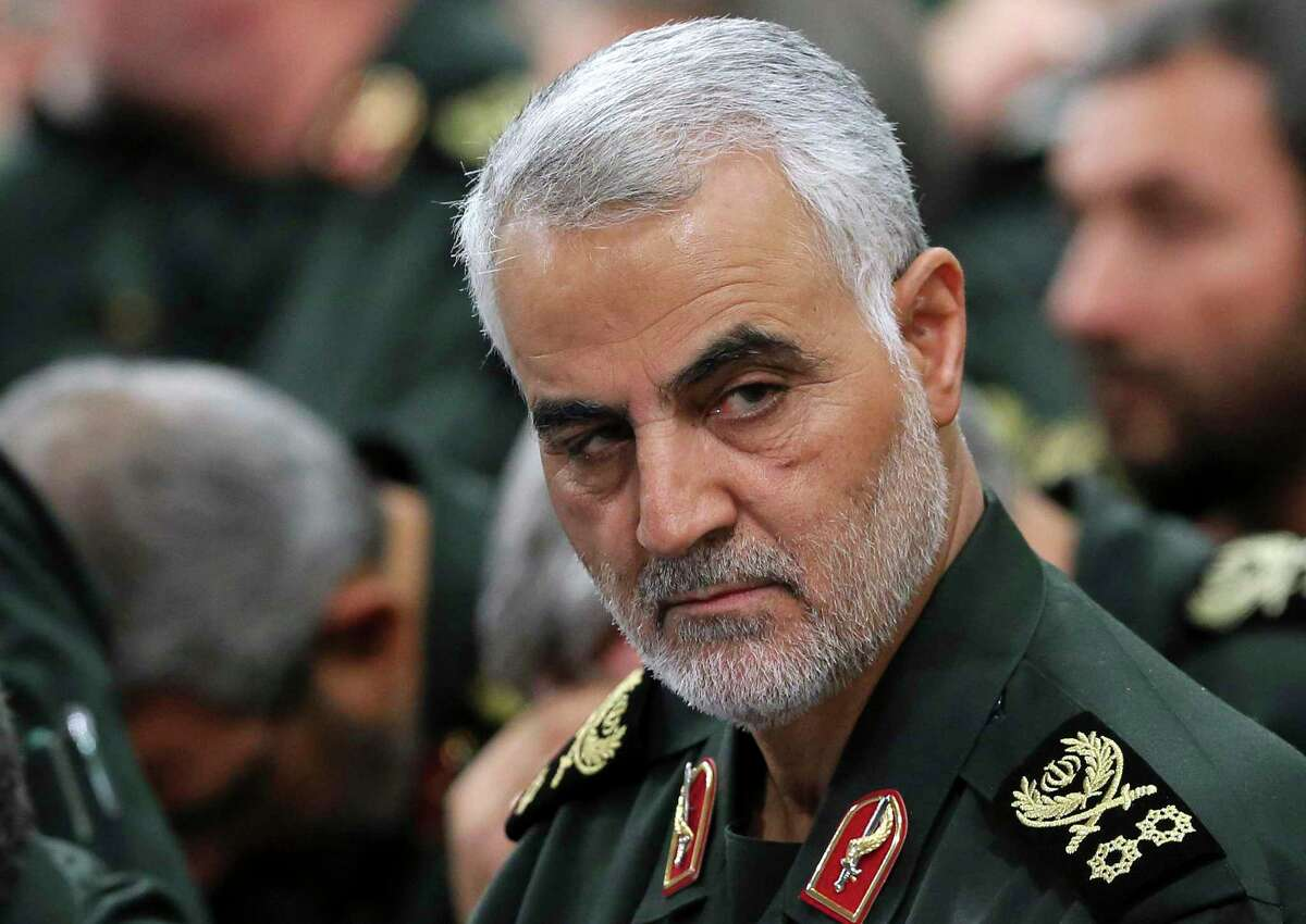 As an agent of international mayhem, Revolutionary Guard Gen. Qassem Soleimani's peers were Osama bin Laden and Abu Bakr al-Baghdadi.
