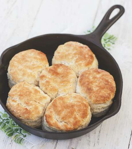 Cast iron buttermilk biscuits recipe from Southern Cast Iron.