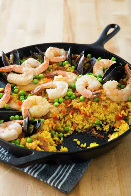 Recipe: Cast-Iron Paella